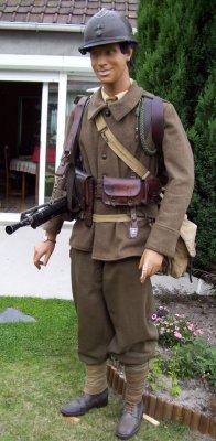 infanterie mai 1940,tireur au FM 24/29