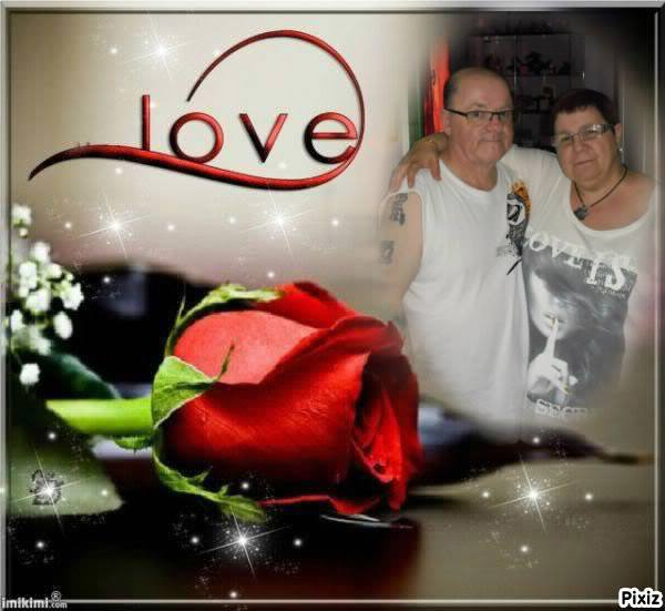 bonjour aujourd'hui ces la ST BERNARD et aussi l'anniversaire de mariage avec ma tendre et douce épouse que j'aime très fort du fond du coeur
