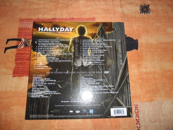 et voici le meilleur de l'album les deux CD et le DVD