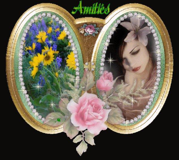 Bonjour  Passe te souhaiter Un bon dimanche Bisous de ton ami bernard car c est beau l amitiè