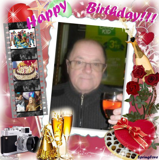 bonsoir merci mon amie souloeidelange56 pour ce magnifique cadeau pour mon anniversaire qui es super bo et oui 64 ans demain