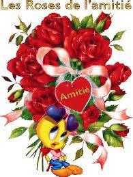 bonjour ma rose d amour que j aime a la folie et merci pour ce jolie cadeau que tu ma fais et je te fais des gros bisous du coeur
