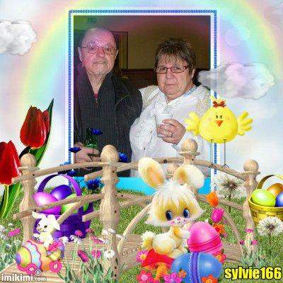 bonsoir mon amie sylvie166 merci pour c est jolie cadeaux de pàques et je te souhaite un très bon week-end gros bisous de ton ami bernard