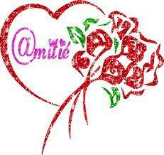 bonsoir mon amie sylvie166 et merci pour ce jolie cadeau avec c est coeur et la rose et oui ma femme elle bien les roses gros bisous de ton ami bernard car c est très beau l amitiè