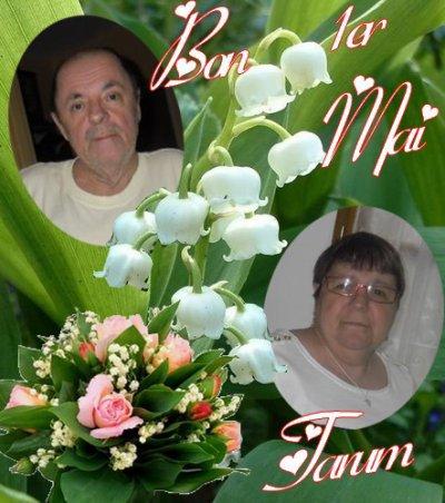 bonsoir mon ami Tarum merci pour ce magnifique cadeau du 1er mai dsl du retard mais je le met quand je te souhaite une bonne fin de soirée et je t'envoi des gros bisous d'amitié