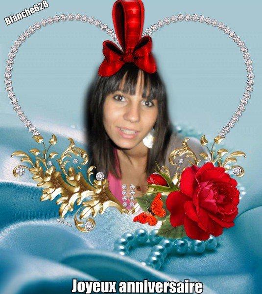 Bonjour,(l) Je viens t'offrir une rose , Avec tout mon coeur pour. Voir un sourire sur ton visage.(l) D'une pluie de tendresse... Je te souhaite une douce matinée. Une très bonne journée dans la joie. Avec une envolée de douceur pour toi. Un panier remplie de bisous . Bisous