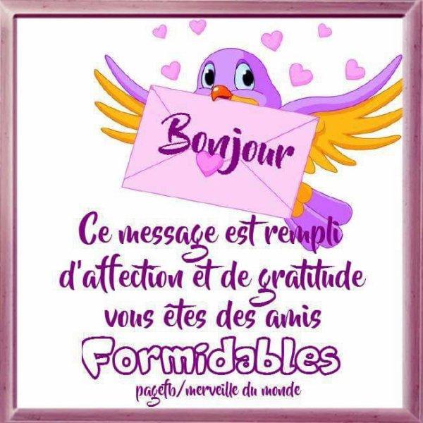 Bonsoir Mon Amie Lapatounette Pour Ton Jolie Message D