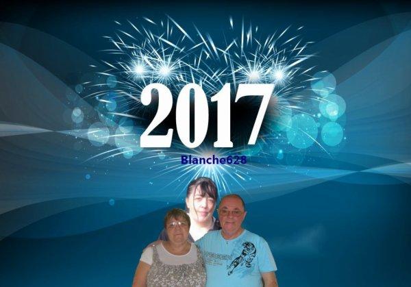 bonsoir mon amie blanche628 pour ce magnifique cadeau du nouvel ans c'est super gentil moi aussi je vous souhaitent mes meilleurs voeux pour 2017 et tout plein de bonne chose et surtout la santé moi je t'envoi tout plein de gros gros bisous