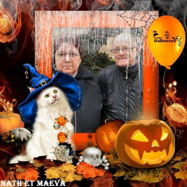 bonsoir mon amie uline-et-maeva pour ce super montage d'halloween il est trop beau je te souhaite une bonne soirée ainsi qu'un très bon week-end et je t'envoi des gros bisous