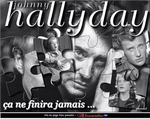 bonsoir mes amies et amis je viens rendre hommage a notre JOHNNY HALLYDAY ils nous quitter la maladie l'emporté ce foutu cancer nous la pris mais il restera dans nos coeur la légende l'ICONE la star du rock français et parti rejoindre les étoiles il vas nous manquer il nous a tant donner  et toute nos condoléance a sa familles et ses enfants est c'est amies