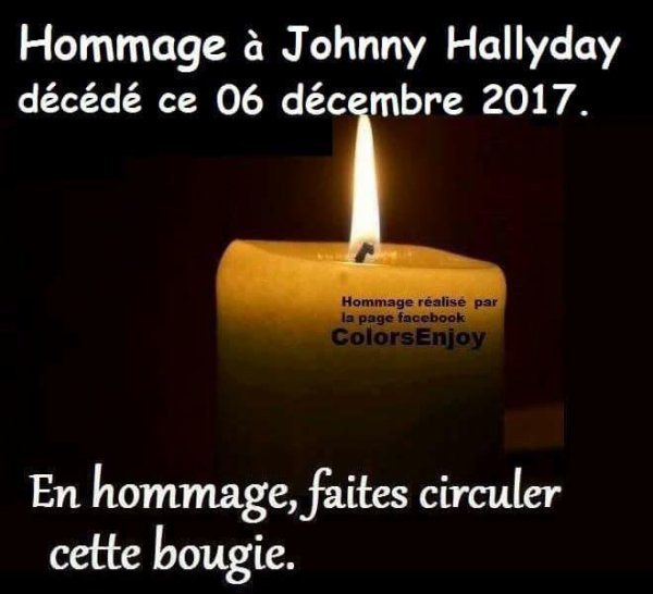 HOMMAGE A NOTRE IDOLE