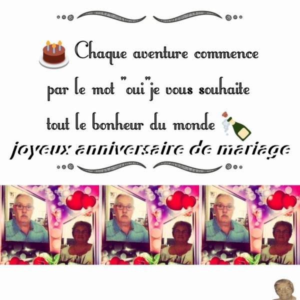 bonsoir mon amie Miau88300 je te remerci beaucoup pour ce sublime cadeaux pour notre anniversaire de mariage et aussi pour ma fète la ST Bernard c'est super sympas je te souhaite une très bonne soirée et merci pour tout c'est gentil moi je t'envoi des milliers de gros bisous