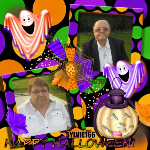 bonsoir mon amie Sylvie166 merci pour ce sublime cadeaux d'Halloweenn il est trop beau j'espère que la santé sa vas moi sa vas je te souhaite une bonne semaine et je t'envoi tout plein de gros bisous