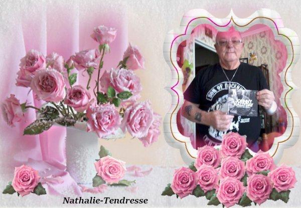 bonsoir mon amie Nathalie-Tendresse merci pour ce sublime cadeaux d'amitié moi je t'envoi mes meilleurs voeux pour 2019 avec plein de bonne chose et beaucoup d'amitié moi je t'envoi des milliers de gros bisous