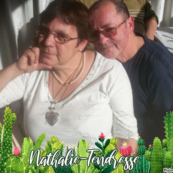 bonsoir mon amie Nathalie-Tendresse j ai ètè très heureu pour mon cadeaux et merci beaucoup car je l adore et comme vas tu mon amie a tu passèe un très bon week-end je te souhaite une bonne soirèe pour toi et je te fait des gros bisous ton ami akcoucou car c est très beau l amitiè