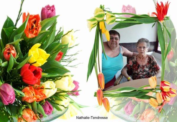 bonjour mon amie Nathalie-Tendresse je te remerci pour c'est sublime cadeaux qui mon fait plaisir j'espère que tu vas bien je te souhaite une bonne après-midi et je t'envoi des milliers de gros bisous