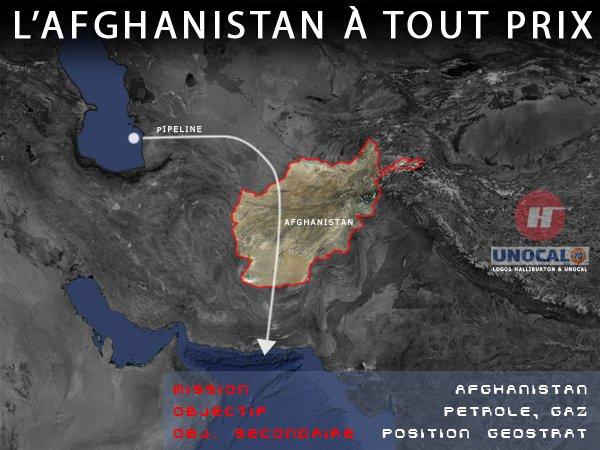 L'afghanistan à tout prix.