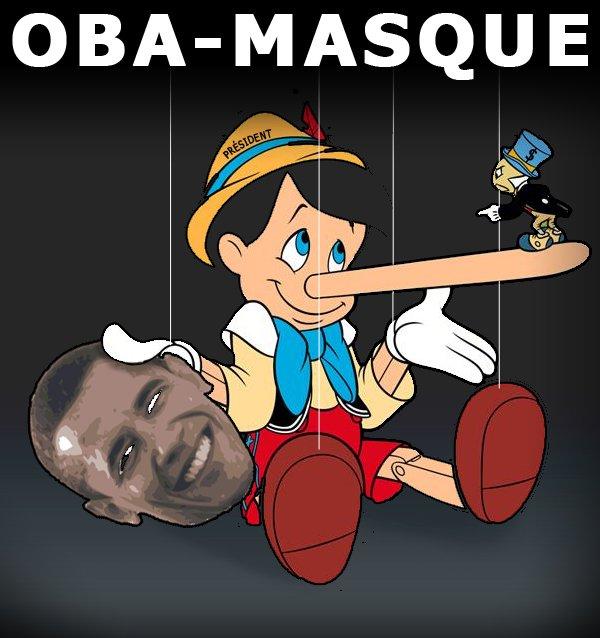 Le fake Obama. Désolé de vous décevoir les fans.