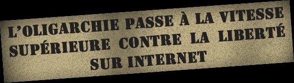 NOUVEAU ! A.C.A.C. : Accord Commercial Anti-Contrefacon : «la muselière d'Internet ?»