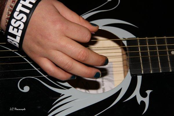 corde de guitare, corde de la vie