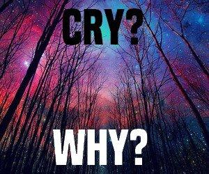« Pleurer? Pourquoi? »
