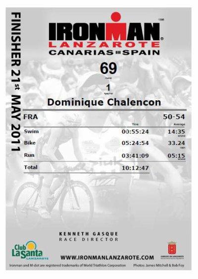 Ironman Lanzarote BRAVO!