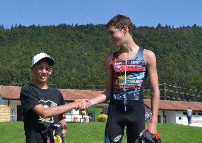 Triathlon jurassien à TRAMELAN en Suisse du 20 aout 2011