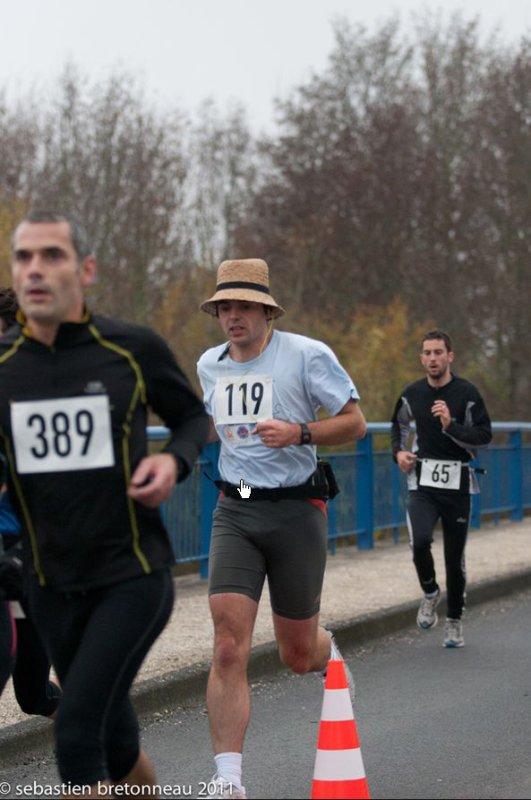 La Chatenaise 10kms Chatenois Les Forges 90 - Label Régional 13/11/2011