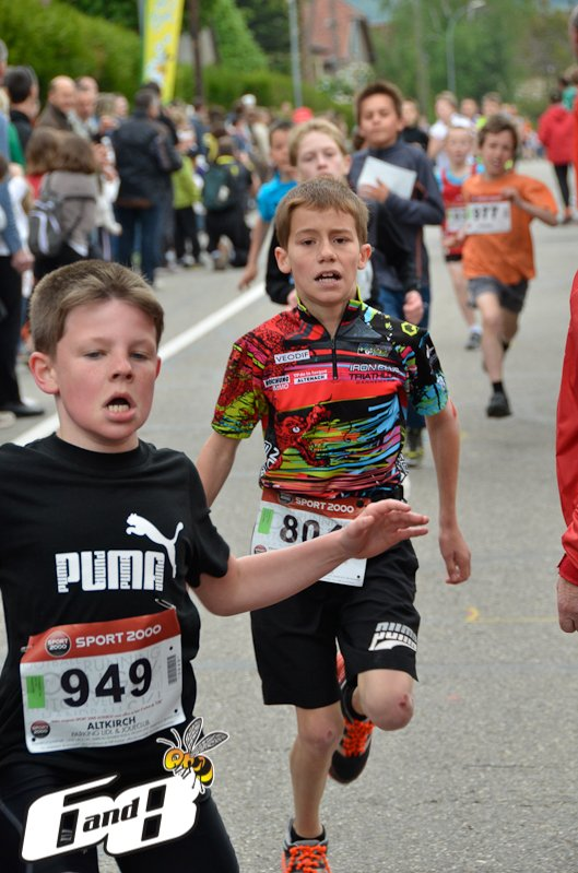 Course de la Rhubarbe de Spechbach-le-Bas (68) 12 mai 2012