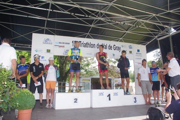 12eme Triathlon du Val de Gray (70) 29 juillet 2012