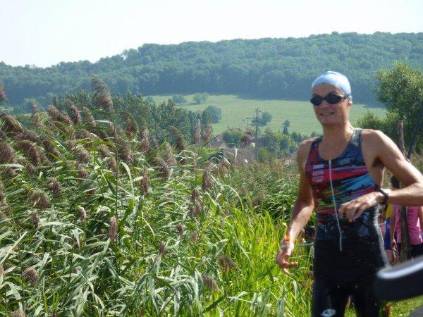 le 28e triathlon de Vesoul le 19 aout 2012