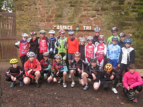 Stage de la Ligue de triathlon au Château de l'Ethic Etap à Neuwiller-les-Saverne (67) du 8 au 10/03/2013