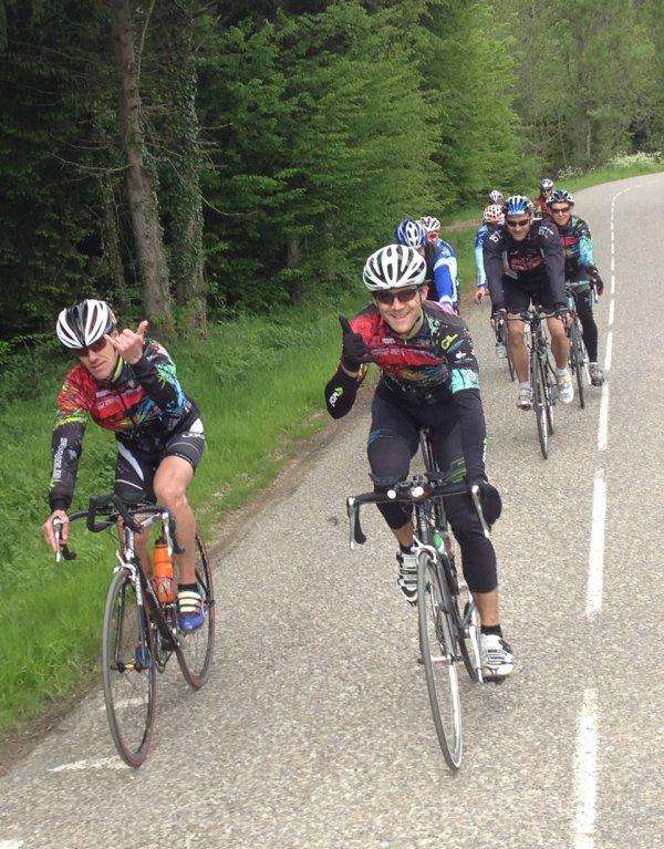 Sortie vélo interclub le lundi 22 mai 2013
