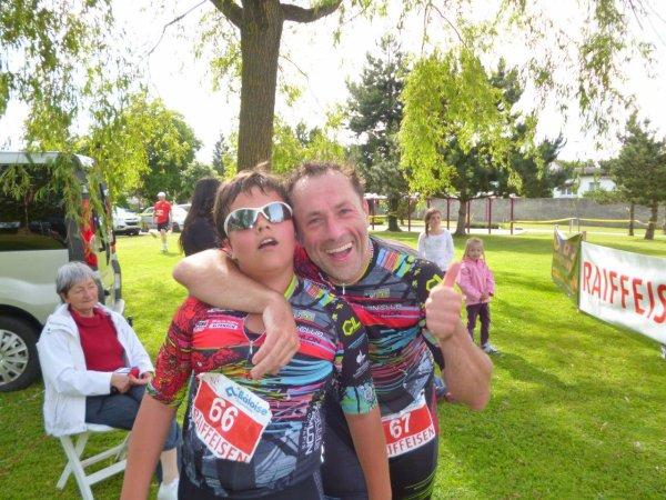 Triathlon de Boncourt (Jura Suisse) le 29 juin 2013