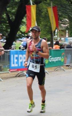 Triathlon de Vouglans(39) le 25 aout 2013