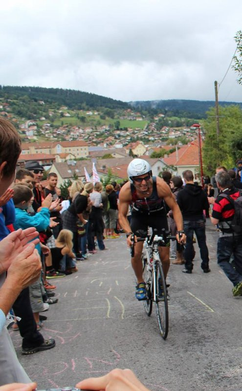 Triathlon de Gerardmer le 8 septembre 2013