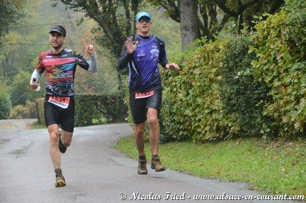 Girotrail 23km, 1200 D+ à Giromagny (90) le 20 octobre 2013