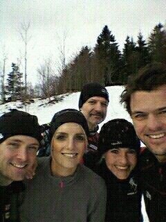 Trail Blanc des Vosges le 2 février 2014 à Rouge-gazon 88-Vosges 17.4Km, D+ 530m