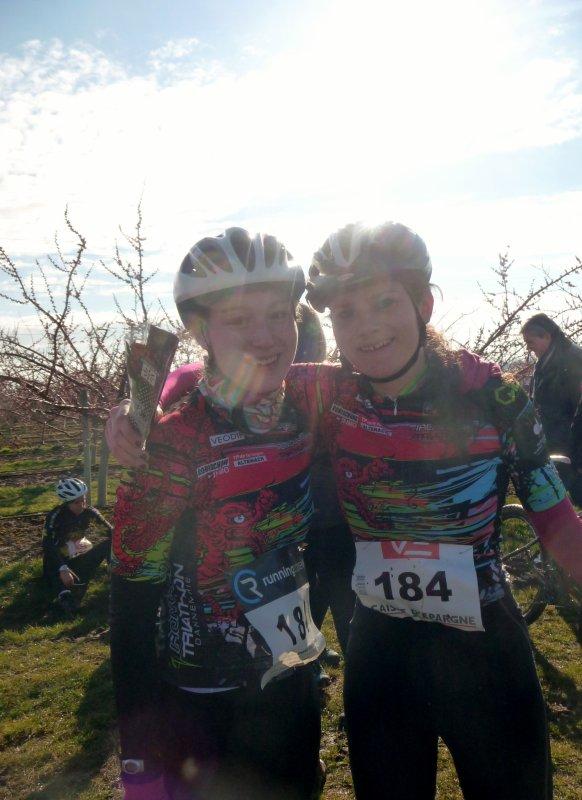 5ème Bike and Run de la Pommeraie organisé par le TACC à Colmar le 02 mars 2014.