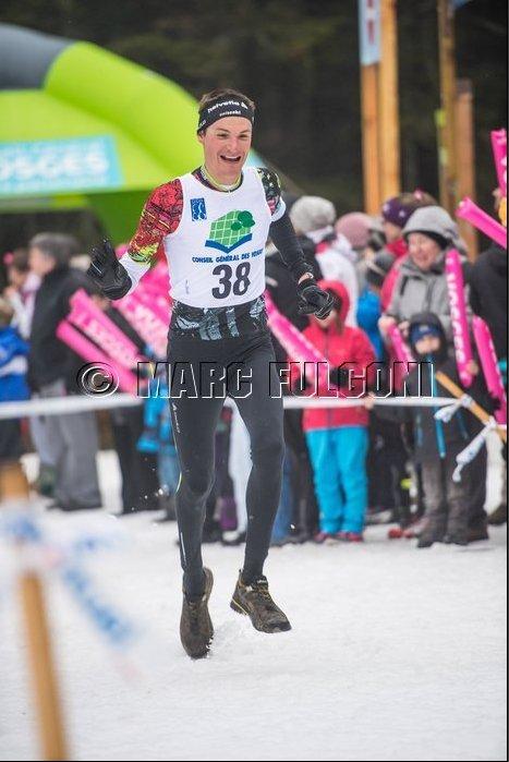 Duathlon des neiges à La Bresse (88) le 15 mars 2014