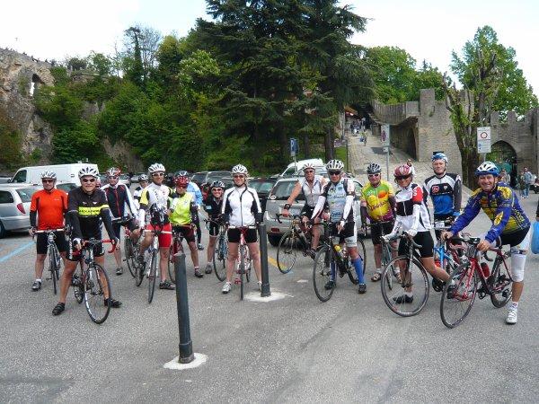 Stage vélo à Cervia en Italie la semaine du 26 avril au 3 mai 2014