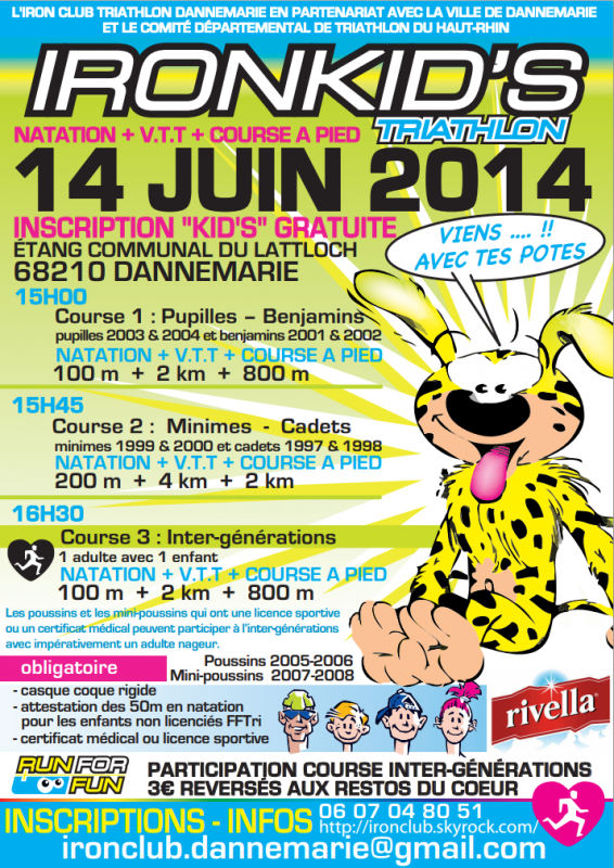Ironkid's à Dannemarie le 14 juin 2014