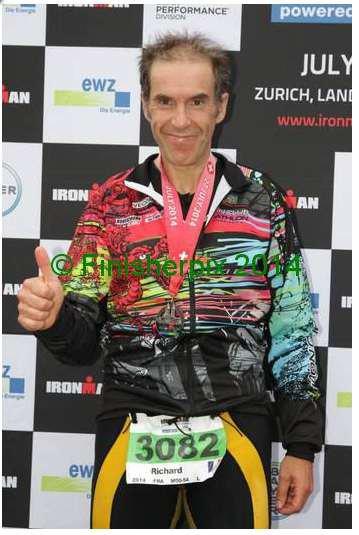 Ironman de Zürich Switzerland le 27 juillet 2014