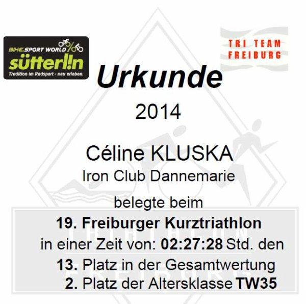 19. Freiburg Triathlon le 20 juillet 2014 à Freiburg (Allemagne)
