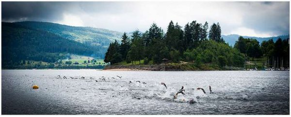 Schluchsee Triathlon le 12 juillet 2014 (Allemagne / Hochschwarzwald)