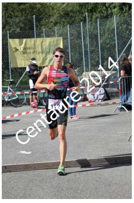 27ème Triathlon du Centaure à St-Imier (Jura Suisse) le 16 Aout 2014