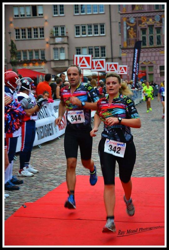 City trail à Mulhouse (68) le 12 octobre 2014