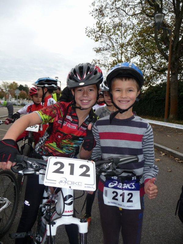 Bike and Run de Rixheim le 9 novembre 2014 + Marathon Nice-Cannes