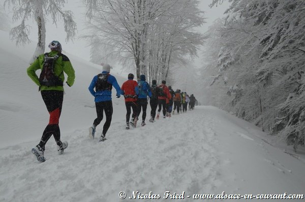 Le Trail Blanc des Vosges - Rouge Gazon (88) Dimanche 1er février 2015