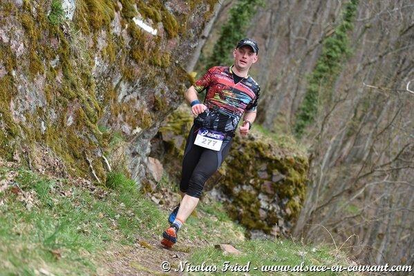 """Trail du Vieil Armand à Wuenheim (68) le samedi 11 avril 2015 et 1er ThurTrail """"le Roosberg"""" à Mitzach (68) le dimanche 12 avril 2015"""